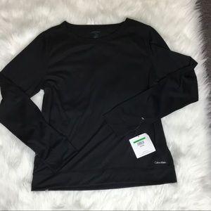 NWT Calvin Klein long sleeve t shirt